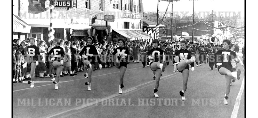 1959 Christmas Parade, Belmont, NC