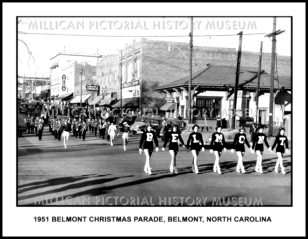 Belmont Nc Christmas Parade 2020 1951 Belmont Christmas Parade, Belmont, NC – Millican Pictorial