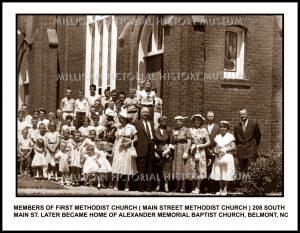 First Methodist Church ( Main Street Methodist Church ) , Belmont, NC