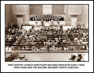 First Baptist Church, Belmont, NC