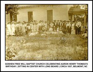 Goshen Free Will Baptist Church , Belmont, NC