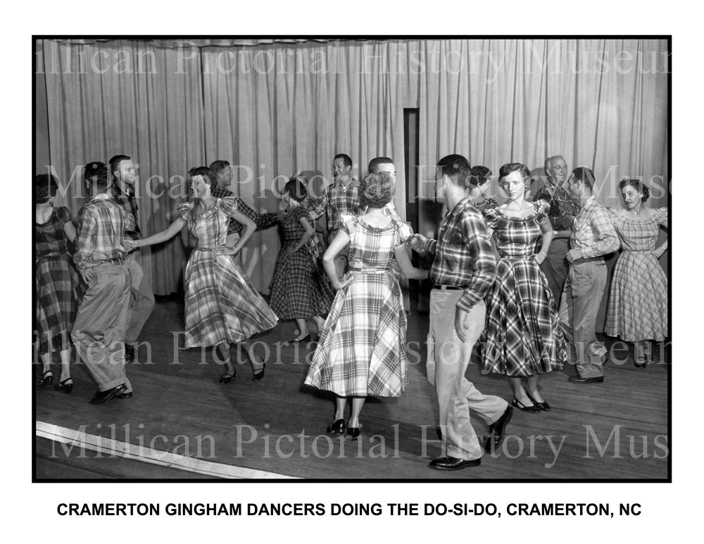 Gingham Square Dance Team