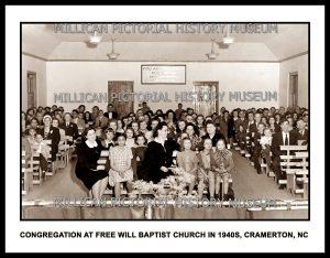 Free Will Baptist Church, Cramerton, NC