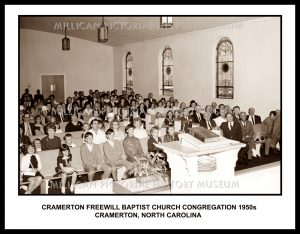 Cramerton Freewill Baptist Church Congregation, Cramerton, NC