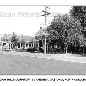 Loray Mills Dormitory & Cafeteria, Gastonia, North Carolina