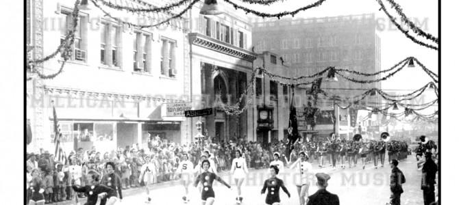 1960 Christmas Parade, Gastonia, NC