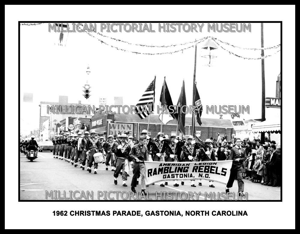 Gastonia Christmas Parade 2020 1962 Christmas Parade, Gastonia, NC – Millican Pictorial History