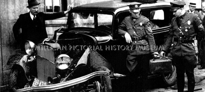 Chief Ramsey & MT. Holly Police investigate a  wreck, Mt. Holly, North Carolina