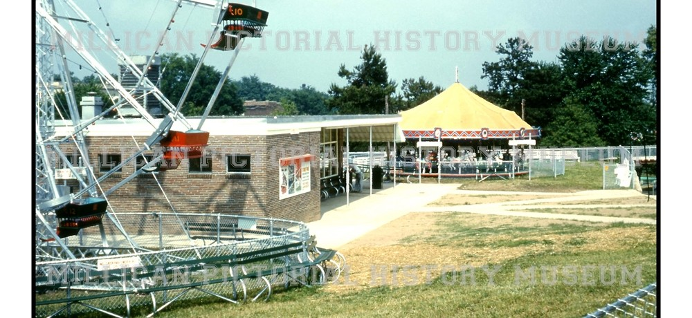 Stowe Park Ferris Wheel, Concession Stand & Carousel, Belmont, NC