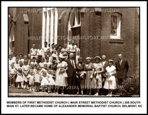 First Methodist Church ( Main Street Methodist Church ) , Belmont, NC