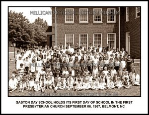 Gaston Day School, Belmont, NC later moved to Gastonia, NC