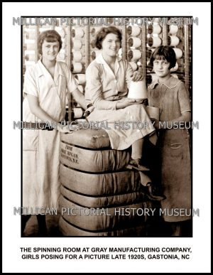 Gray Manufacturing ( Mills ) Company, Gastonia, NC