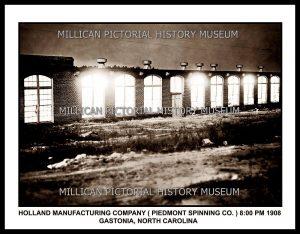 Holland Manufacturing Company, Gastonia, NC