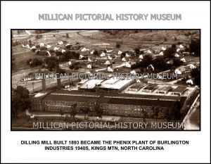 Dilling Mill, Kings Mountain, NC