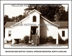 Mountain Side Baptist Church, Spencer Mountain, NC