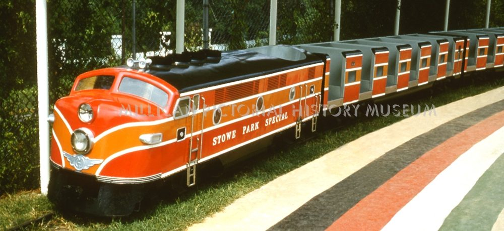 The Stowe Park Special Train's home was at Stowe Park, Belmont, North Carolina
